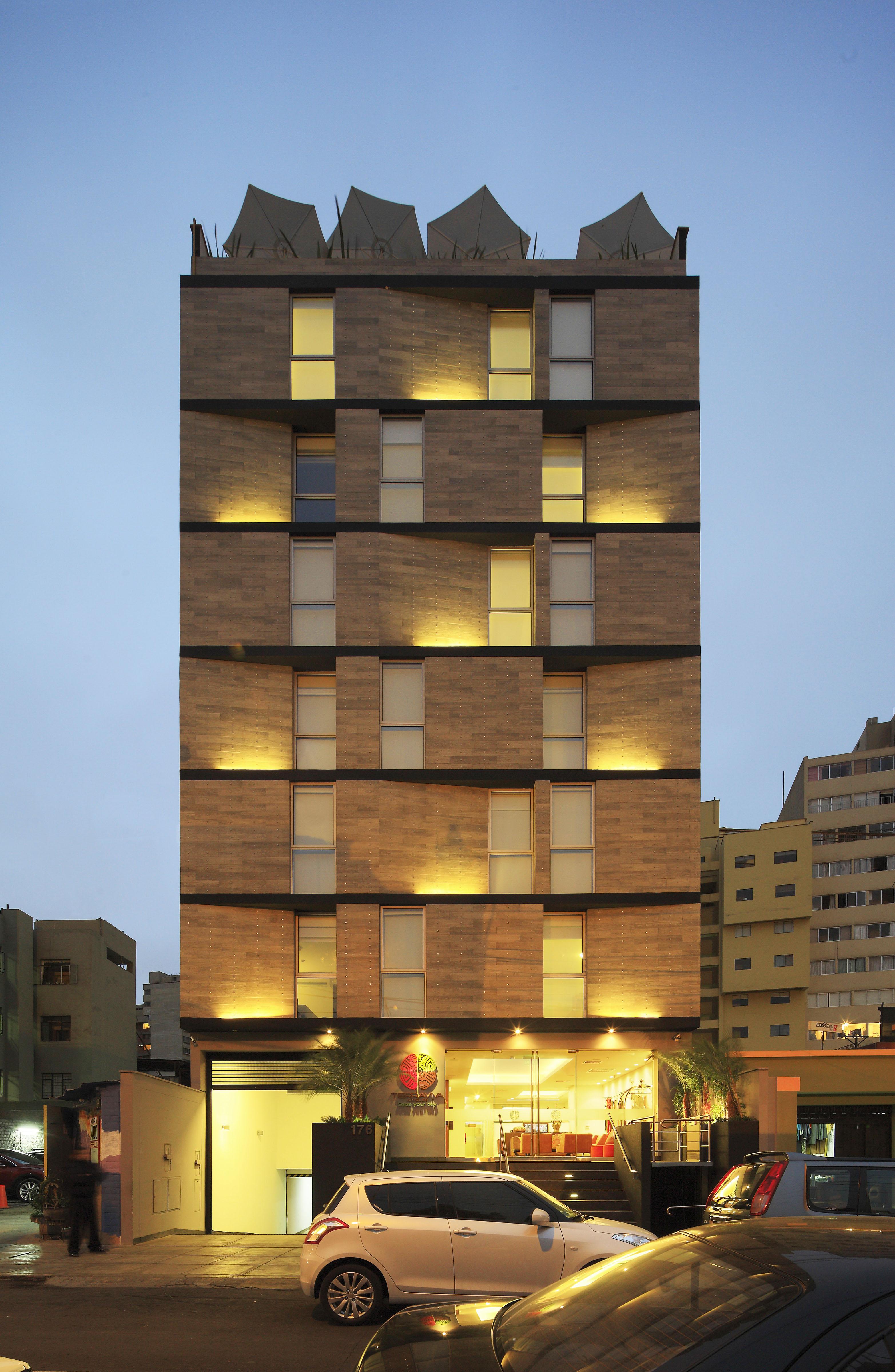 Proyecto Arquitectura Hotel Bolivar en Lima, Perú